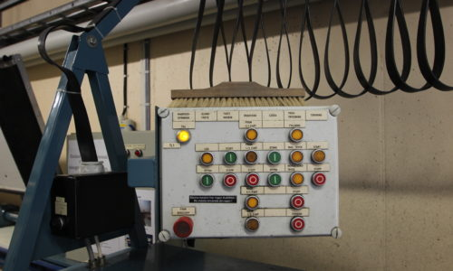 Control console Fire Hose Maintenance machine