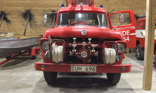 Fire truck Ford F600-1958