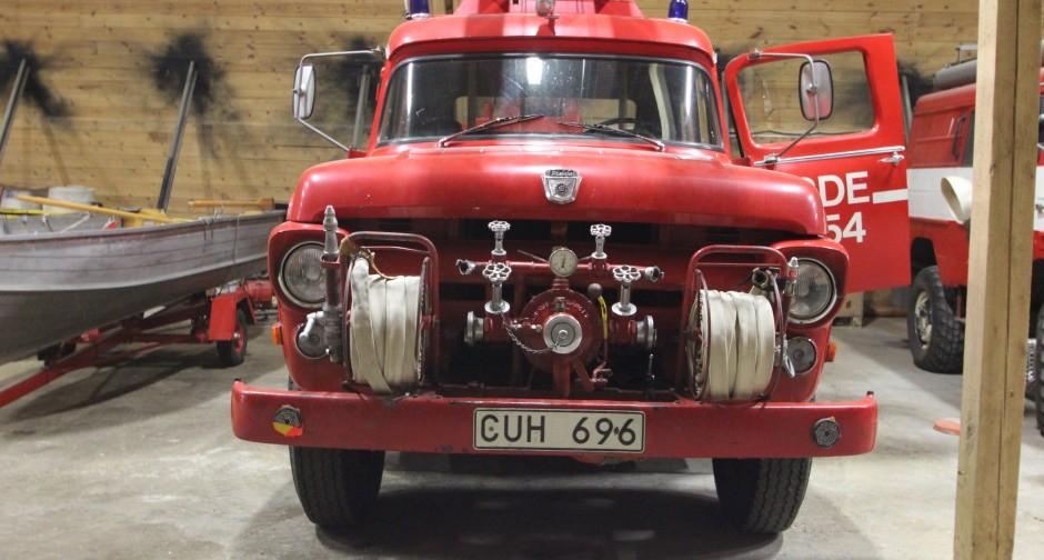 Fire truck Ford F600-1958